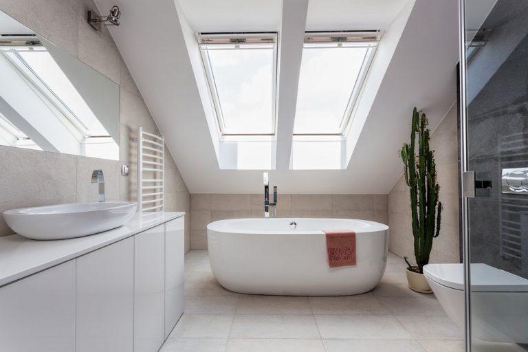 Loft bathroom conversion