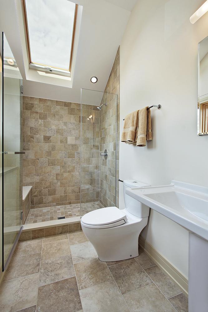 En suite bathroom with shower in Essex