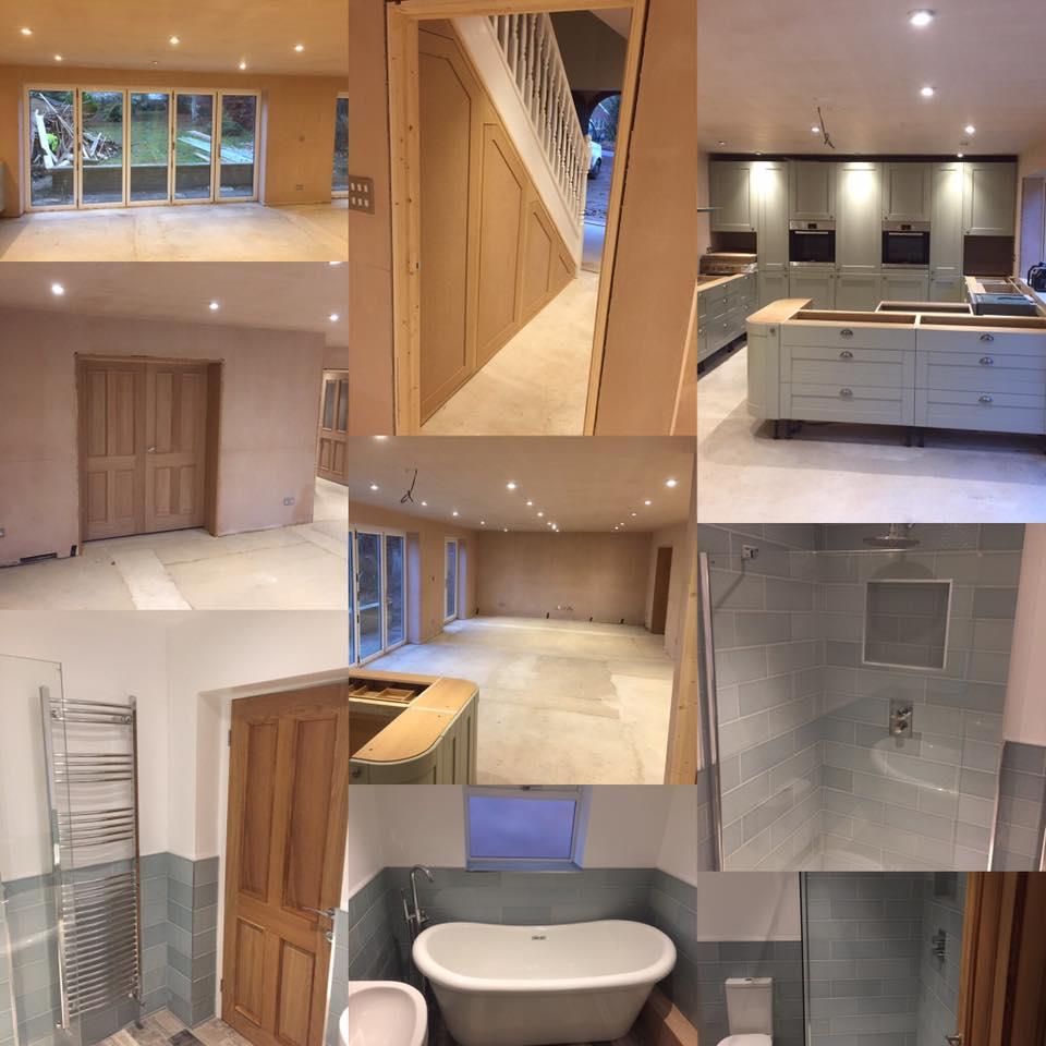 New bathrooms and kitchen refurbishment Hertfordshire
