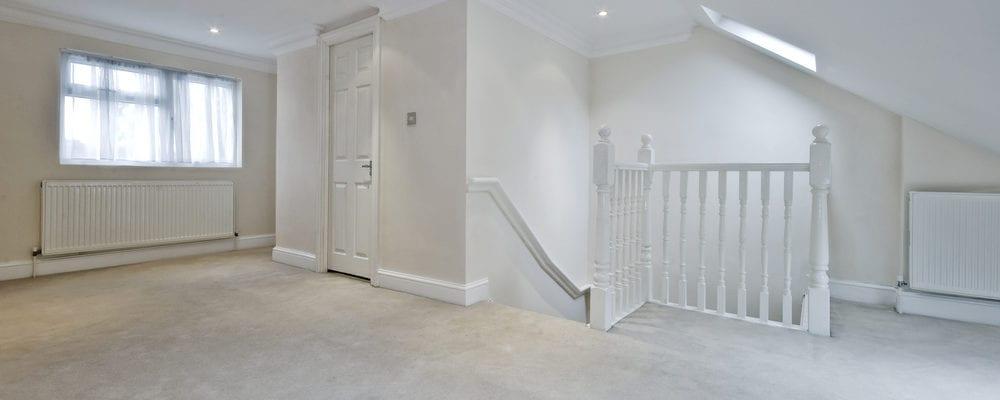 White loft conversion